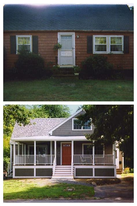 exterior remodel before and after exterior house