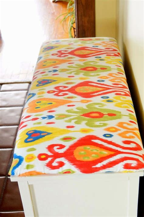 sewing bench cushions diy no sew bench cushion