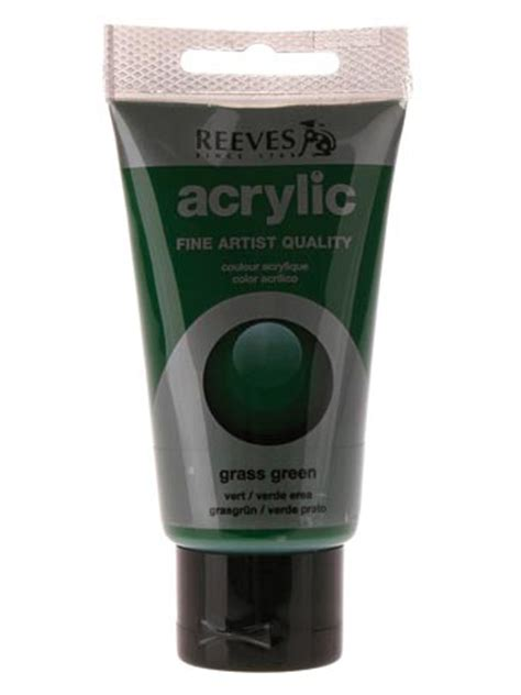 acrylic paint reeves papertree reeves acrylic paint grass green