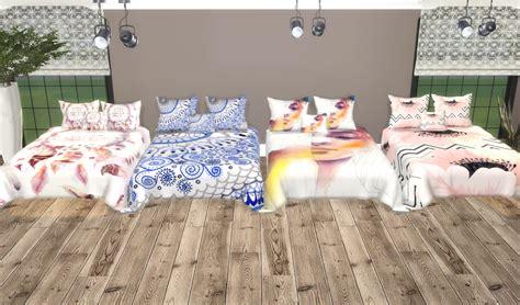 sims  ccs   santorini pillowsbed blanket recolors     sims  world