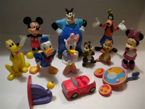 disney mickey mouse clubhouse toy pvc figure lot book play setcake topper pete ebay