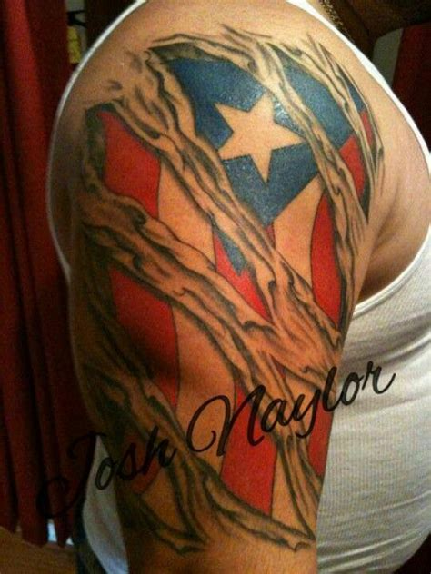 puerto rican tattoos usa american flag in the skin tattoos south elgin