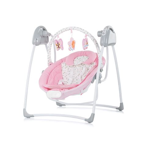 swing electric electric baby swing and bouncer paradise chipolino