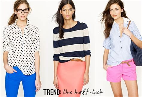 half trend with an i e the half tuck trend