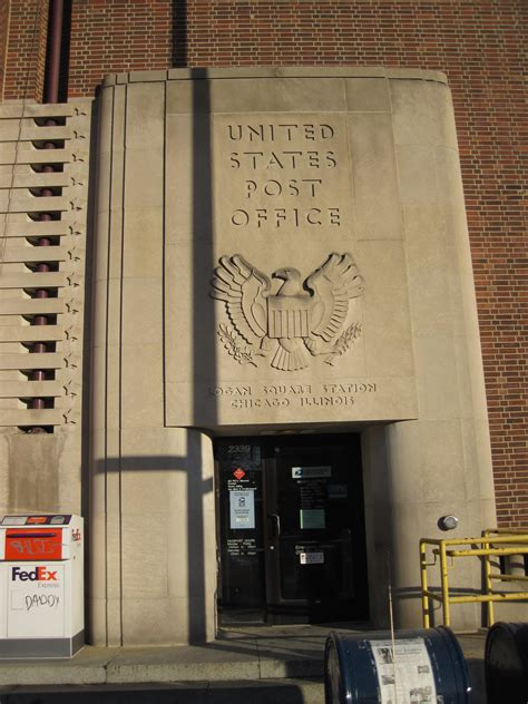 Logan Square Post Office by Roberto Clemente Chicago Il Post Office 60647 Post