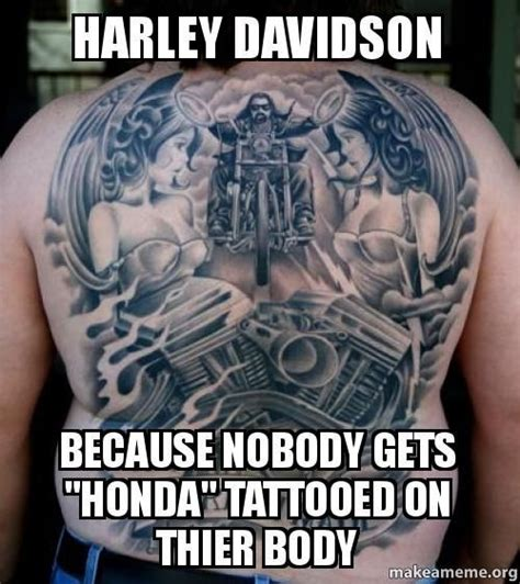 biker u0026 harley davidson tattoos 17 best images about motorcycle quotes on