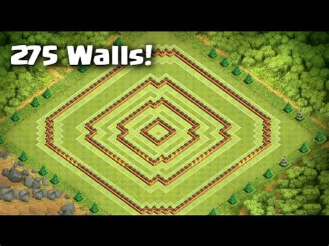 best wall pattern clash of clans download video clash of clans best town hall 10 farming