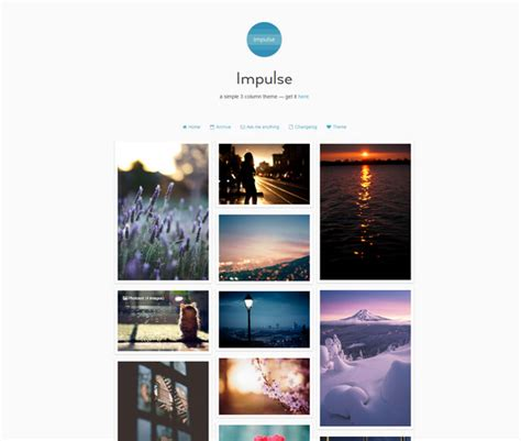 themes for tumblr simple 50 best free tumblr themes 2018 for clean portfolio gags