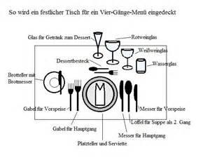tische eindecken gastronomie tabellen und grafiken anleitungen tipps und