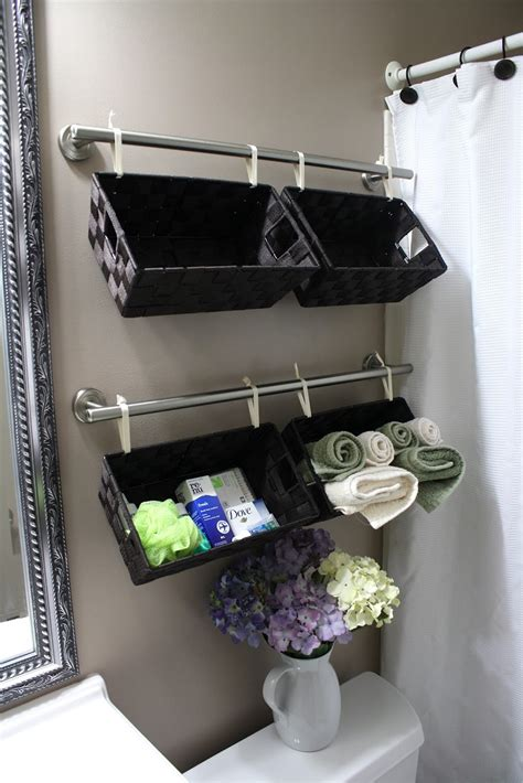 Top 10 Lovely Diy Bathroom Decor And Storage Ideas Storage For Bathroom