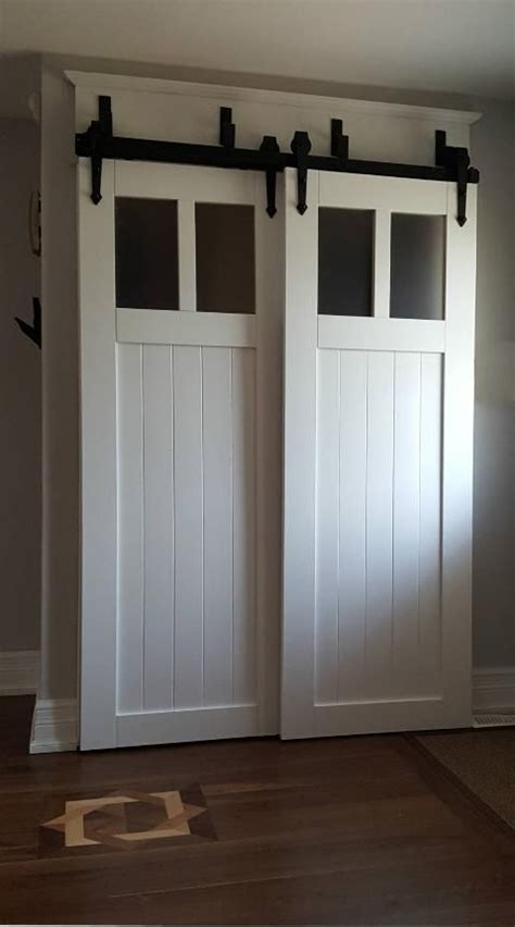 Bypass Barn Doors Best 25 Bypass Barn Door Hardware Ideas On Closet Door Hardware Sliding Barn Door
