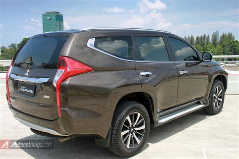 Coversarung Mobil Warna Pajero Sportall New Pajero Sport all new pajero sport 2016 indonesia rear autonetmagz