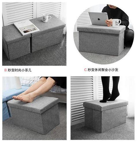 Sofa Kotak sofa kotak penyimpanan barang 30x30x30cm gray