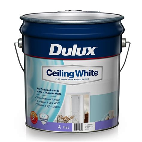 dulux bathroom paint price dulux 15l ceiling white paint bunnings warehouse