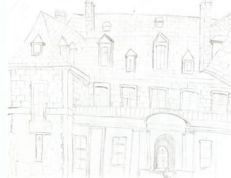 Gw 122 F By Gifty House mansion sketch