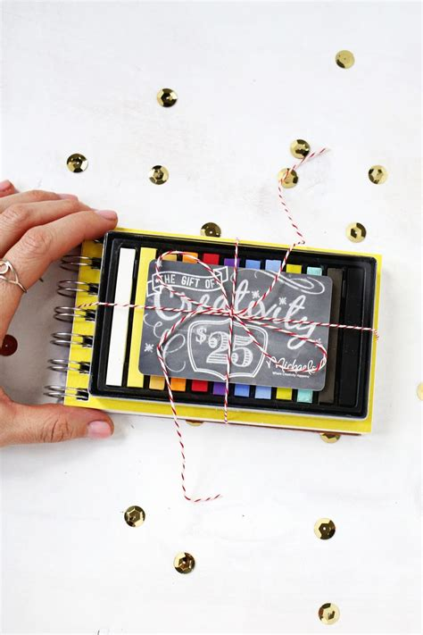 Creative Way To Wrap Gift Cards - 5 creative ways to wrap gift cards a beautiful mess