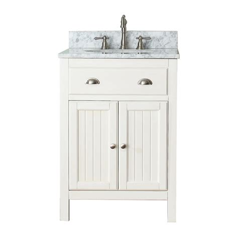 Lowe S Canada Bathroom Vanities Avanity Hamilton V24 Fw Hamilton 24 In Bathroom Vanity Only Lowe S Canada