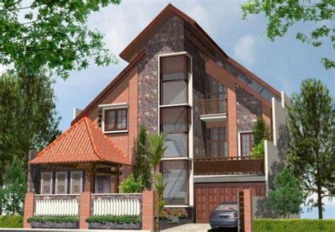 desain rumah jawa model rumah modern desain adat jawa rumah adat pinterest
