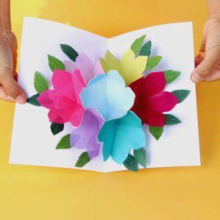 rainbow pop up card template home garden diy tutorials creative design how tos