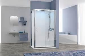 cabine de eon novellini acces de 2 panneaux