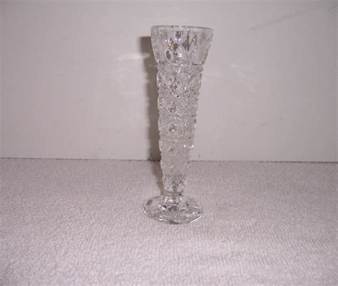 Vase Clear Glass by A Resale Clear Glass Bud Vase