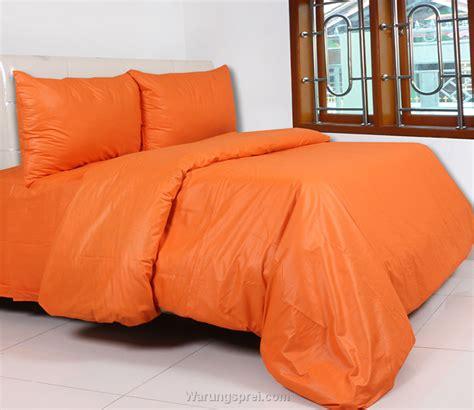 Sprei Polos Orange 200x200x40 Cm sprei polos polos orange warungsprei
