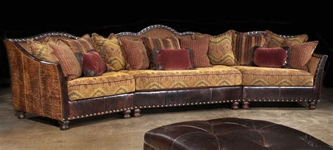 western couches western furniture custom sectional sofa chairs and hair
