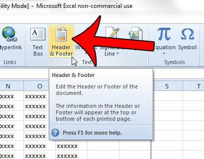 delete header section how to remove a header image in excel 2010 solve your tech