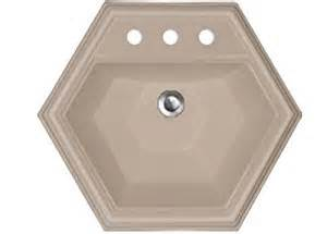 hexagon bathroom sink advantage series edgefield self hexagon bathroom