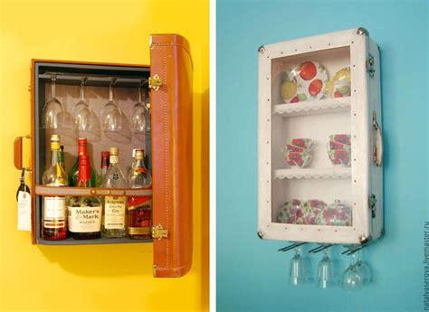 armadietti fai da te 20 idee fai da te con il riciclo delle valigie vintage