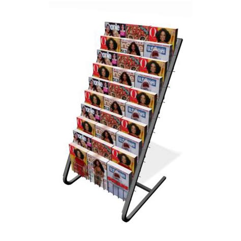 10 shelf floor magazine rack floor magazine rack metal