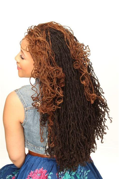 long sisterlocks styles natural hair on pinterest colored natural hair natural
