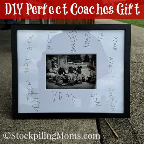 diy perfect coaches gift