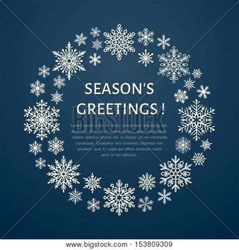Season Greetings Cards Templates by Wreath Images Illustrations Vectors Wreath Stock