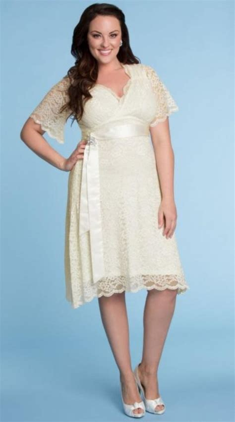 Re And White Wedding Dresses by Plus Size White Dresses Pluslook Eu Collection