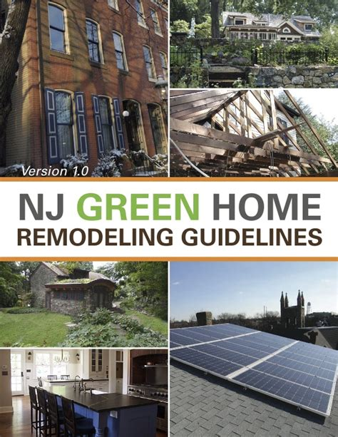 eric tuvel nj green home remodeling guidelines