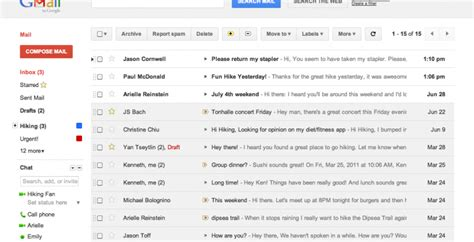 gmail themes for tablet gmail and calendar refreshed with google matching themes