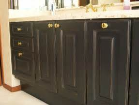how to paint bathroom cabinets black staining oak cabinets