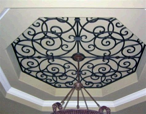 Wrought Iron Ceiling Medallions by Ceiling Treatment Ceiling Medallions Wrought Iron Ceiling