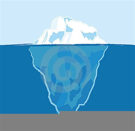 clipart iceberg tip of the iceberg clipart free images at clker