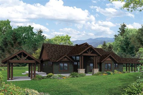 lodge style house plans 3d house style design fantastic lodge style house plans