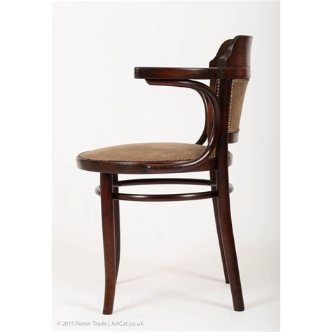 thonet armchair rare original 1920 s art deco thonet bentwood armchair