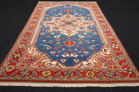 teppich blau türkis t 252 rkischer orient teppich milas 265 x 180 cm melas blau