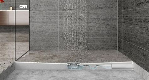 pilette per doccia a pavimento sifone ribassato salvaspazio per spessori ridotti
