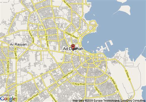where is doha on world map doha map