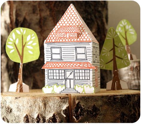 Paper House - 1canoe2 paper house kit