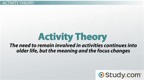 biography meaning and sentence social theories of aging definitions exles video