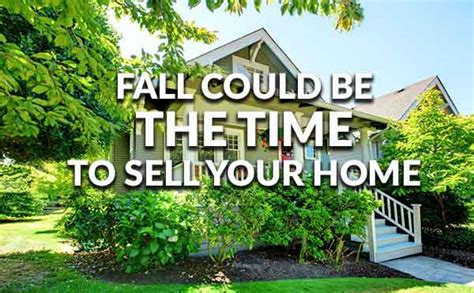 getting a mortgage before selling old house fall could be a great time to sell your home