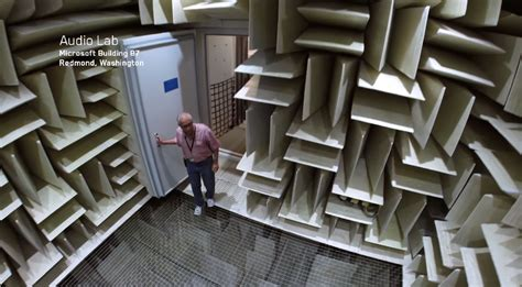 world s quietest room step inside the quietest room in the world business insider
