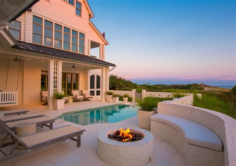 beach house backyard beach house with airy coastal interiors home bunch